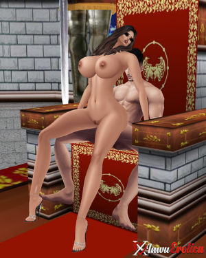 Kinky King's Medieval Throne Room